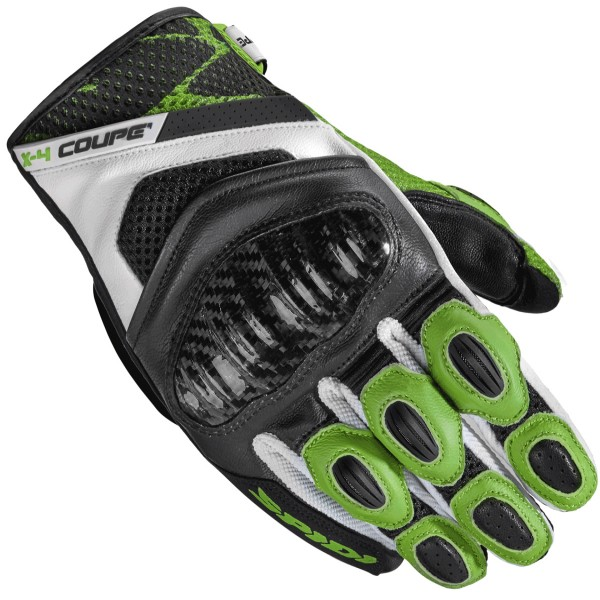 Spidi Gb X4 Coupe Gloves Black Kawa Green