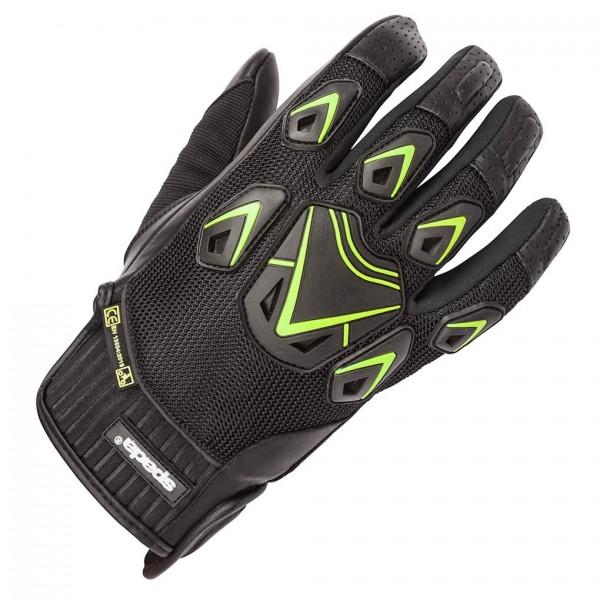 Spada Leather Gloves Air Pro Black & Flou Ladies