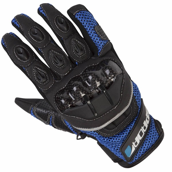 Spada Textile Gloves Mx-Air Blue