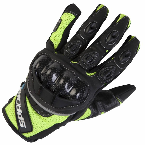 Spada Textile Gloves Mx-Air Fluo