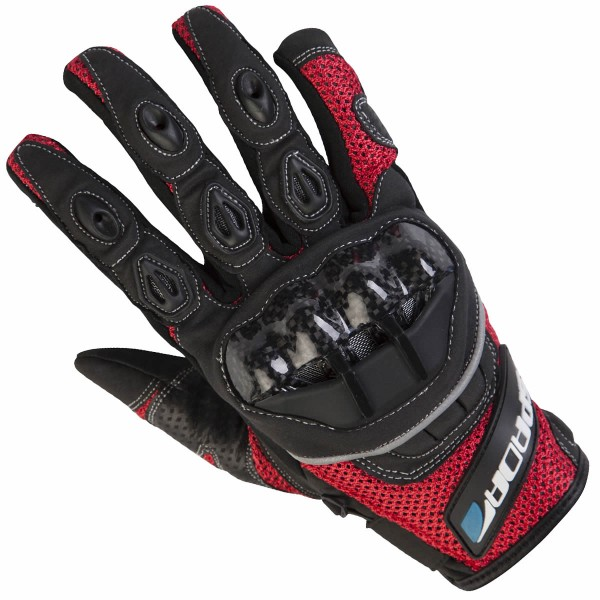 Spada Textile Gloves Mx-Air Red