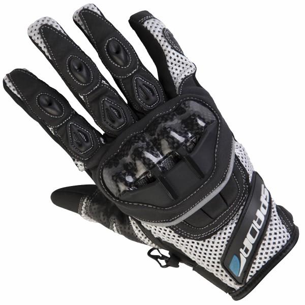 Spada Mx-Air Textile Gloves White