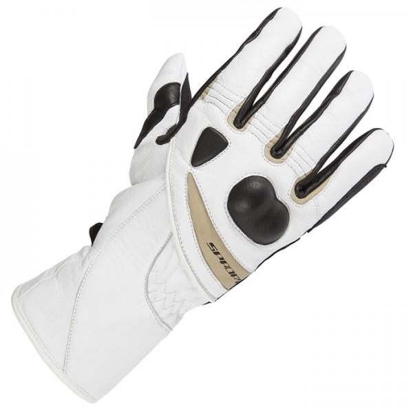 Spada Spritz Textile Gloves Ladies White/sand