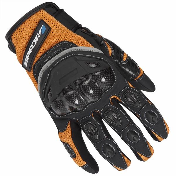 Spada Textile Gloves Mx-Air Orange