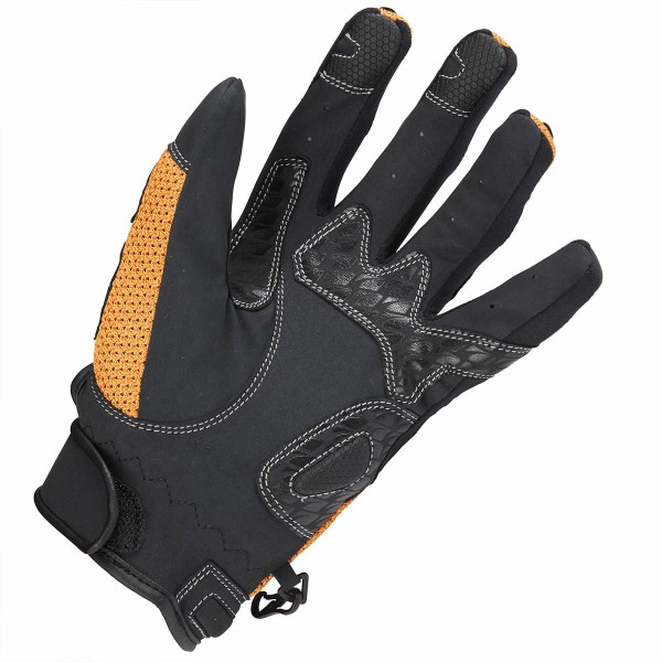 Spada Textile Gloves Mx-Air Orange