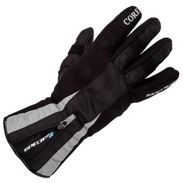 Spada Textile Gloves Core Wp Ladies Black