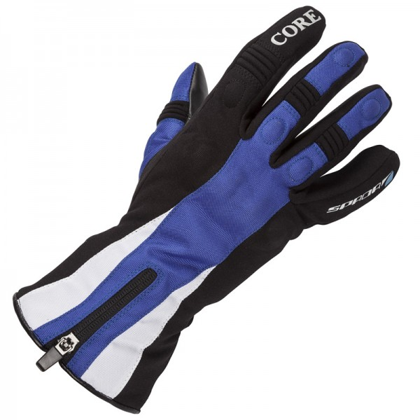 Spada Textile Gloves Core Wp Ladies Black & Blue