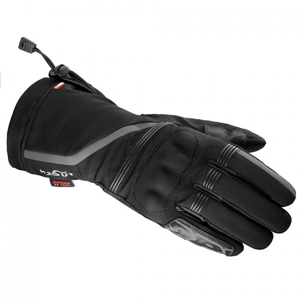 Spidi Gb Nk5 Wp Textile Gloves Black