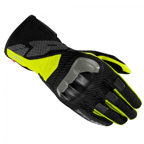 Spidi Gb Rainshield Wp Textile Gloves Black & Yellow