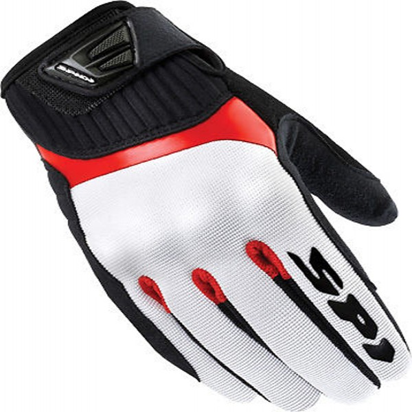 Spidi It G-Flash Textile Gloves Black & Red