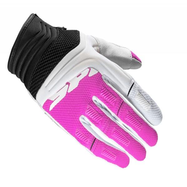 Spidi It Mega-X Lady Textile Gloves Black & Fuchsia