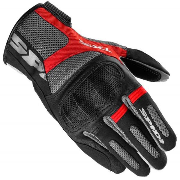 Spidi It Txr Textile Gloves Black & Red