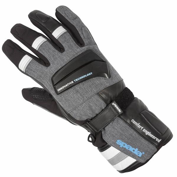 Spada Leather Gloves Latour Wp Black & White