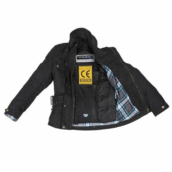 Spada Hartbury Textile Jacket Black