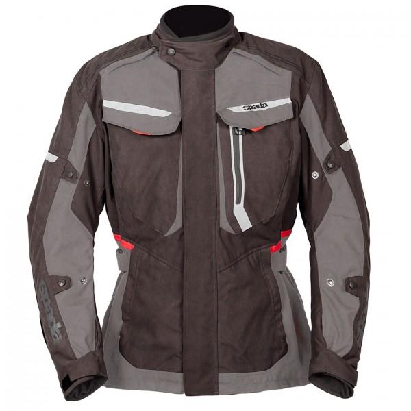 Spada Marakech Textile Jacket Black & Grey
