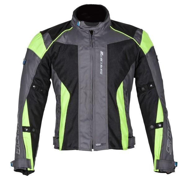 Spada Air Pro Seasons Textile Jacket Grey & Black & Fluo