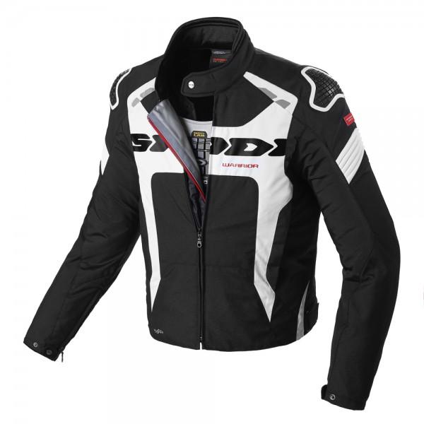 Spidi Gb Warrior H2Out Evo Jacket Black & White