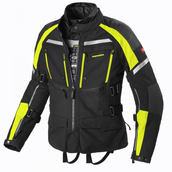 Spidi Gb H2Out Armakore Jacket Black Fluo Yellow