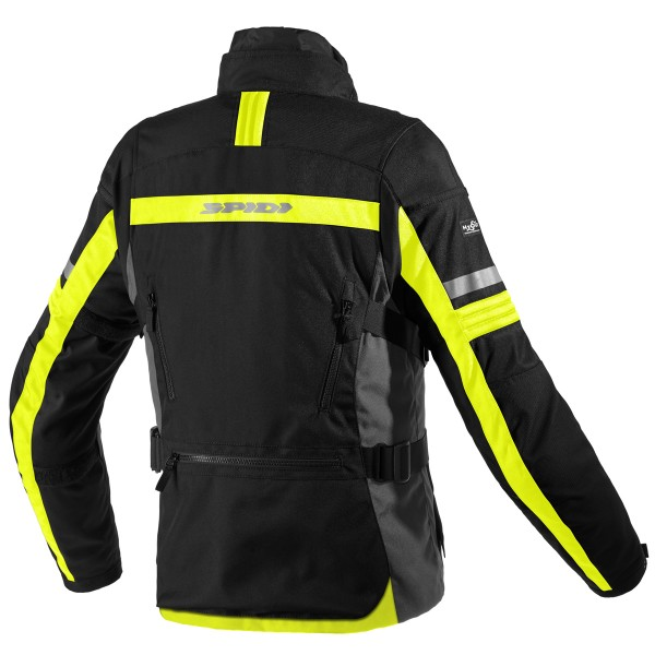 Spidi Gb H2Out Modular Jacket Black Fluo Yellow