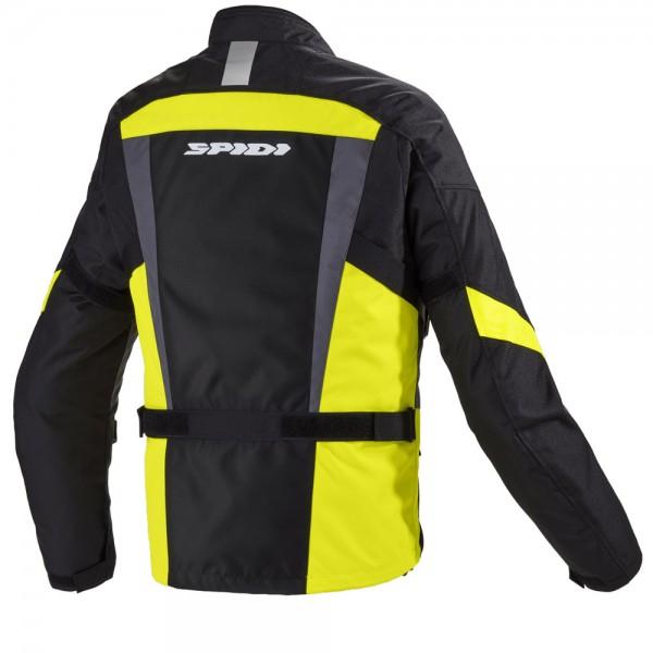 Spidi Gb H2Out Traveler 2 Jacket Black Fluo Yellow