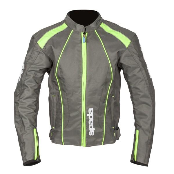Spada Textile Jacket Plaza Wp Zinc Green