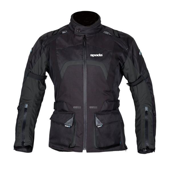 Spada Base Textile Jacket - Black