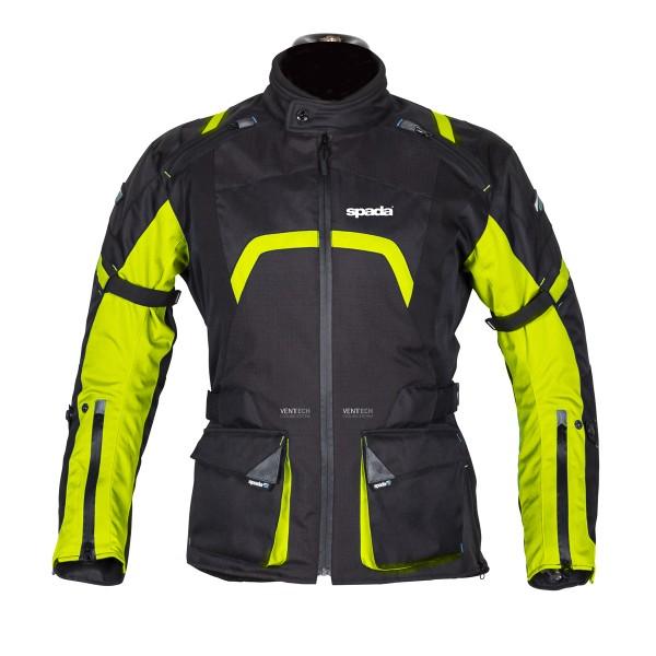 Spada Base Textile Jacket - Black & Flou