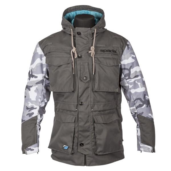 Spada Humma Textile Jacket - Grey Camo