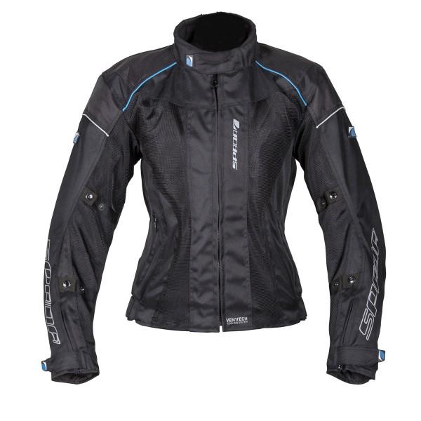 Spada Textile Jacket Air Pro Seasons Black