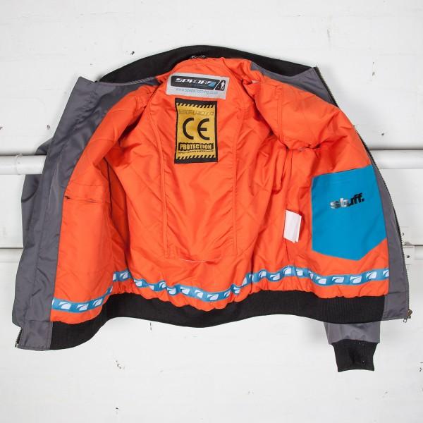 Spada Air Force 1 Textile Jacket - Royale White