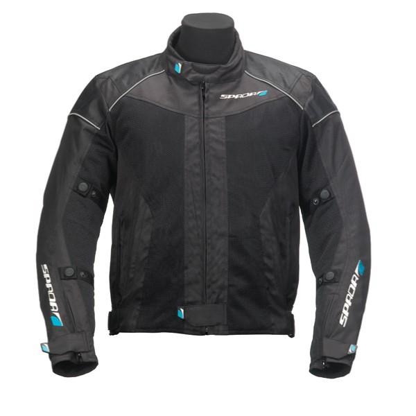 Spada Textile Jacket Air Pro Black