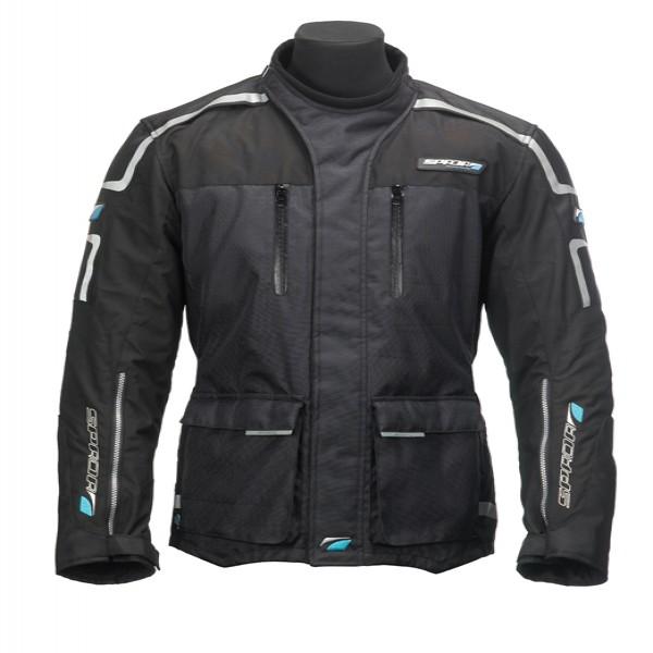 Spada Torrent Textile Jacket - Black