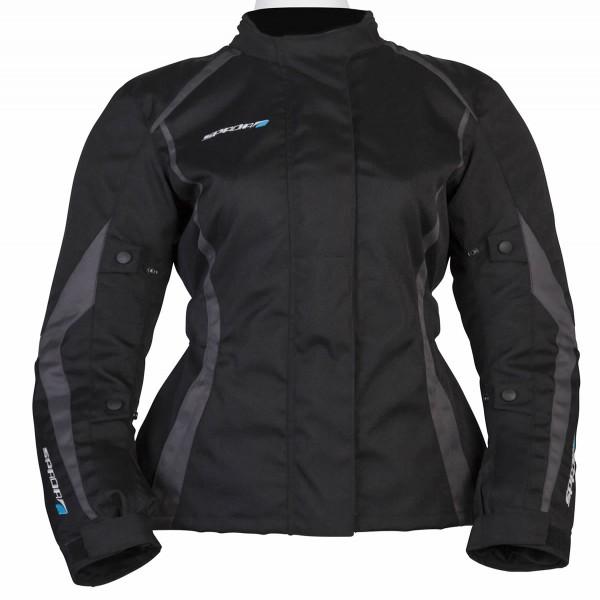 Spada Planet Textile Jacket - Ladies Black & Grey