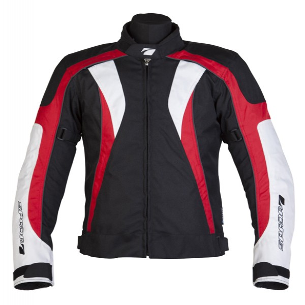 Spada Textile Jacket Rpm Black & Red
