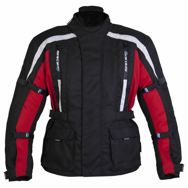 Spada Textile Jacket Core Black & Red