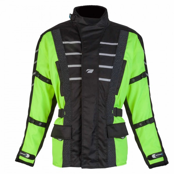 Spada Textile Jacket Attitude Black & Fluo