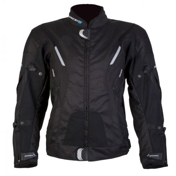 Spada Curve Textile Jacket - Black
