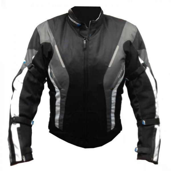 Spada Curve Textile Jacket - Black & Grey & White
