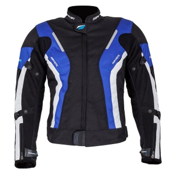 Spada Curve Ladies Textile Jacket - Black & Blue
