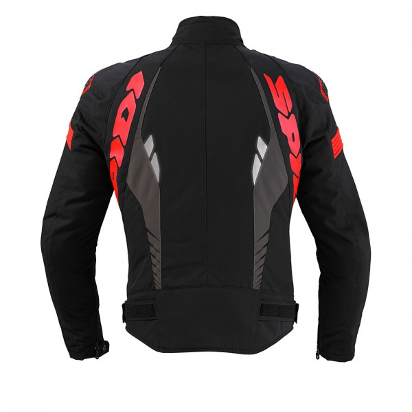 Spidi Gb H2Out Warrior Sport Wp Jacket Black & Red