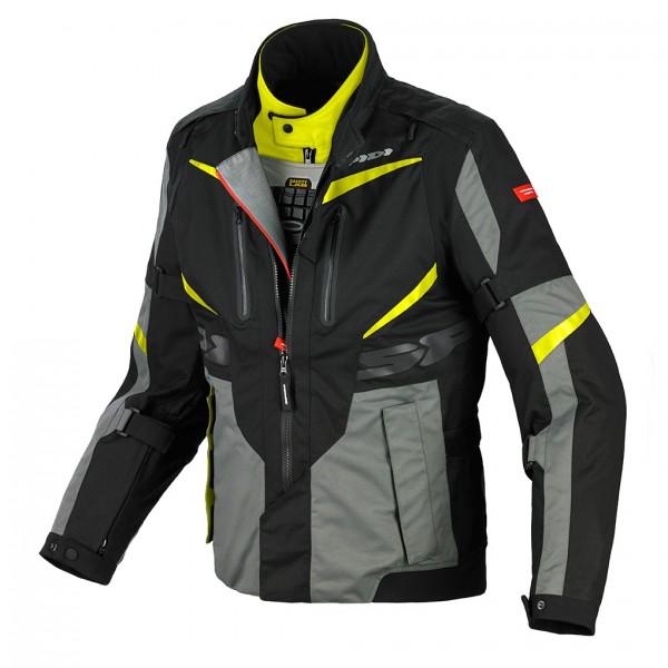 Spidi Gb H2Out X Tour Wp Jacket Black & Yellow