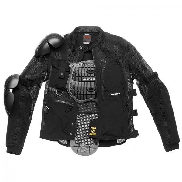 Spidi Gb Tex Tech Multitech Amour Evo Jacket Black