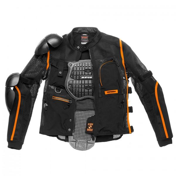 Spidi Gb Tex Tech Multitech Amour Evo Jacket Black & Orange
