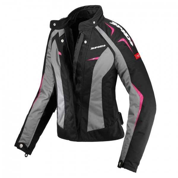 Spidi Gb H2Out Sport Lady Wp Jacket Black & Pink