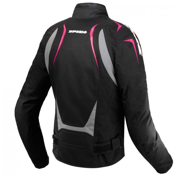 Spidi Gb H2Out Sport Lady Wp Jacket Black & Pink