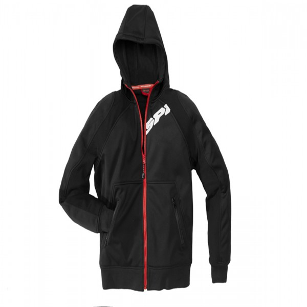 Spidi It Hoodie Armor Black