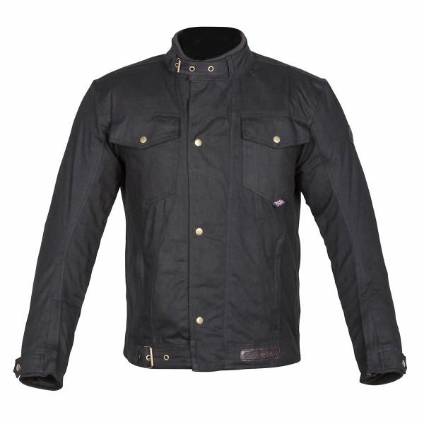 Spada Union Wax Textile Jacket - Black