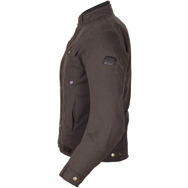 Spada Textile Jacket Union Wax Brown