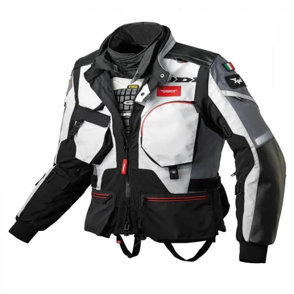 Spidi It H2Out H.t.raid Wp Jacket Black & Grey