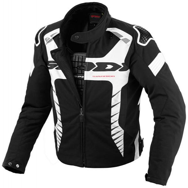 Spidi It Tex Tech Warrior Tex Jacket Black & White